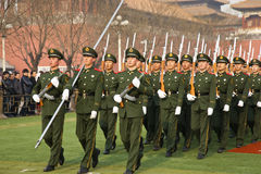 Chinese Army Royalty Free Stock Images