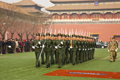 Chinese Army Royalty Free Stock Photography