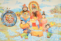 Chinese art background Stock Photo