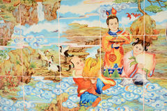 Chinese art background Stock Photos
