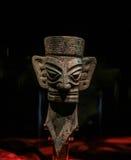 Chinese artifact in sanxingdui museum,sichuan,china. Chinese artifact is taken in sanxingdui museum,sichuan,china Stock Photos