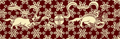 Chinese Artistic Pattern Royalty Free Stock Image