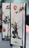 Chinese Artwork: Folding dressing screen Stock Photography