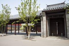 Chinese Asia, Beijing, Asia China, Beijing, Olympic Park, sinking, garden,The courtyard, Stock Photos