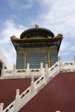 Chinese Asia, Beijing, Beihai Park, Baita, ShanyinTemple Stock Images
