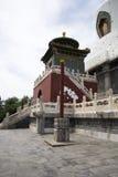 Chinese Asia, Beijing, Beihai Park, Baita, ShanyinTemple Royalty Free Stock Image