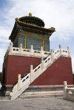 Chinese Asia, Beijing, Beihai Park, Baita, ShanyinTemple Royalty Free Stock Images