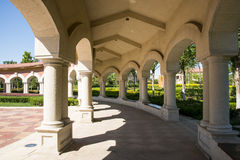 Chinese Asia, Beijing, Daxing Riverfront Park, European architecture Stock Image