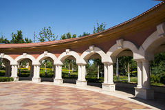 Chinese Asia, Beijing, Daxing Riverfront Park, European architecture Royalty Free Stock Image