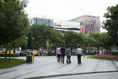 Chinese Asia, Beijing, Taikoo Li Sanlitun, comprehensive leisure and entertainment district Stock Photography