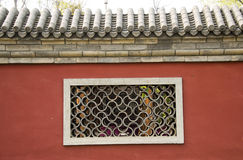 Chinese Asia, Beijing, the very characteristics of the wall Stock Photography