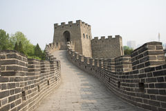 Chinese Asia, Beijing, the World Park,Miniature landscape, the Great Wall Stock Images