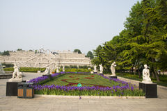 Chinese Asia, Beijing, the World Park,The gardening landscape,Miniature landscape, Miniature landscape, Italy terrace garden Royalty Free Stock Photos