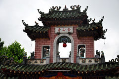 Chinese Assembly Hall gate, Hoi An, Vietnam Stock Photography