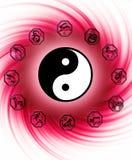 Chinese astrologie vector illustratie