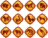 Chinese astrology Stock Image
