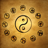 Chinese astrology Royalty Free Stock Photography