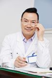 Chinese Aziatische mannelijke arts Stock Foto's