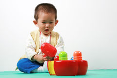 Chinese baby Royalty Free Stock Images