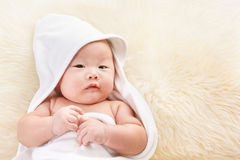 Chinese baby boy Royalty Free Stock Images