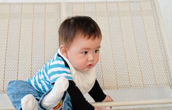 Chinese baby boy Stock Image