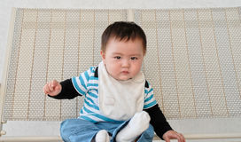 Chinese baby boy Stock Photo