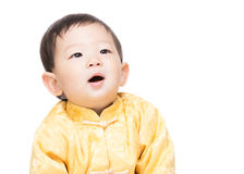 Chinese baby boy Royalty Free Stock Photography