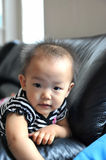 Chinese baby girl. A cute Chinese baby girl Stock Photography