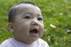 Chinese baby girl Royalty Free Stock Image