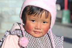 Chinese baby girl Royalty Free Stock Photo