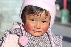 Chinese baby girl Royalty Free Stock Photo
