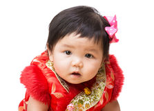 Chinese baby girl Stock Images