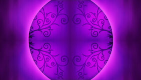 Chinese background purple Royalty Free Stock Photos