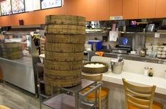 Chinese bakery restaurant Royalty Free Stock Photos