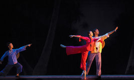 Chinese ballet : The Red Detachment of Women Stock Images
