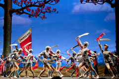 Chinese ballet : The Red Detachment of Women Royalty Free Stock Photography