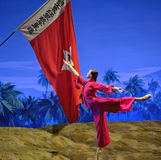 Chinese ballet : The Red Detachment of Women Royalty Free Stock Photos