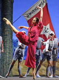 Chinese ballet : The Red Detachment of Women Royalty Free Stock Image