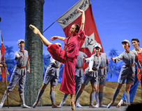 Chinese ballet : The Red Detachment of Women Royalty Free Stock Images