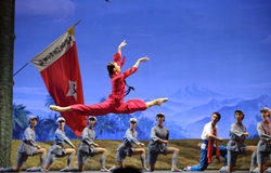 Chinese ballet : The Red Detachment of Women Stock Photo