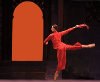 Chinese ballet : The Red Detachment of Women Royalty Free Stock Photo
