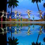 Chinese ballet : The Red Detachment of Women Stock Image
