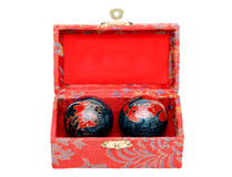 Chinese balls Stock Photography