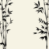 Chinese bamboo design. vector illustration