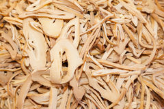 Chinese bamboo shoot preserved. Was sale in China street market in Thailand Stock Photos
