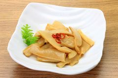 Chinese bamboo shoots Royalty Free Stock Photography