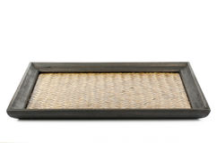 Chinese bamboo tray Royalty Free Stock Photos