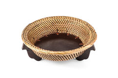 Chinese bamboo tray Stock Photography