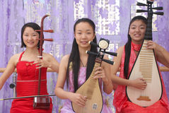 Chinese band Royalty Free Stock Photography
