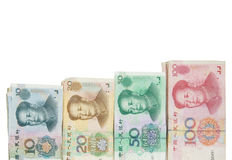 Chinese banknotes Stock Image